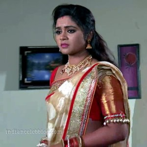 Shirisha Manasu mamatha telugu serial hot sari caps | Indian