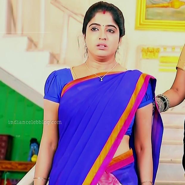 Shyamili Nayar Devathaiyai kanden actress S1 34 saree pic