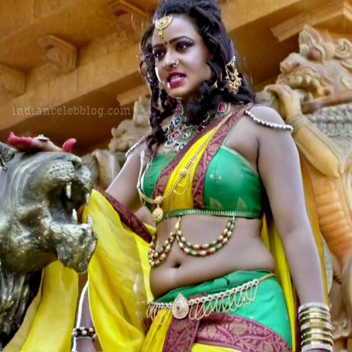 Meghana gowda tv actress swarna khadgam S1 5 hot photo
