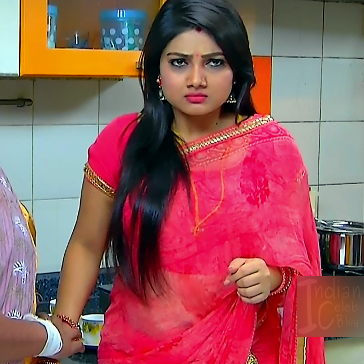 Priyanka nalkari roja serial actress S2 5 saree photo