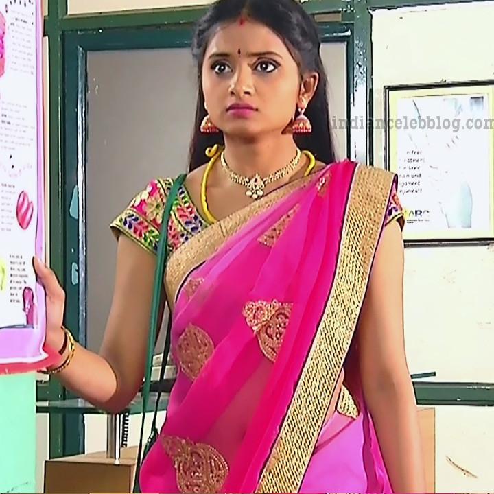 Varshini tamil tv actress sumanagal S2 1 saree photo