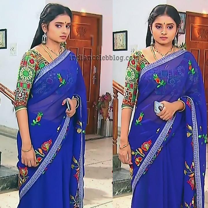 Varshini tamil tv actress sumanagal S2 3 saree photo