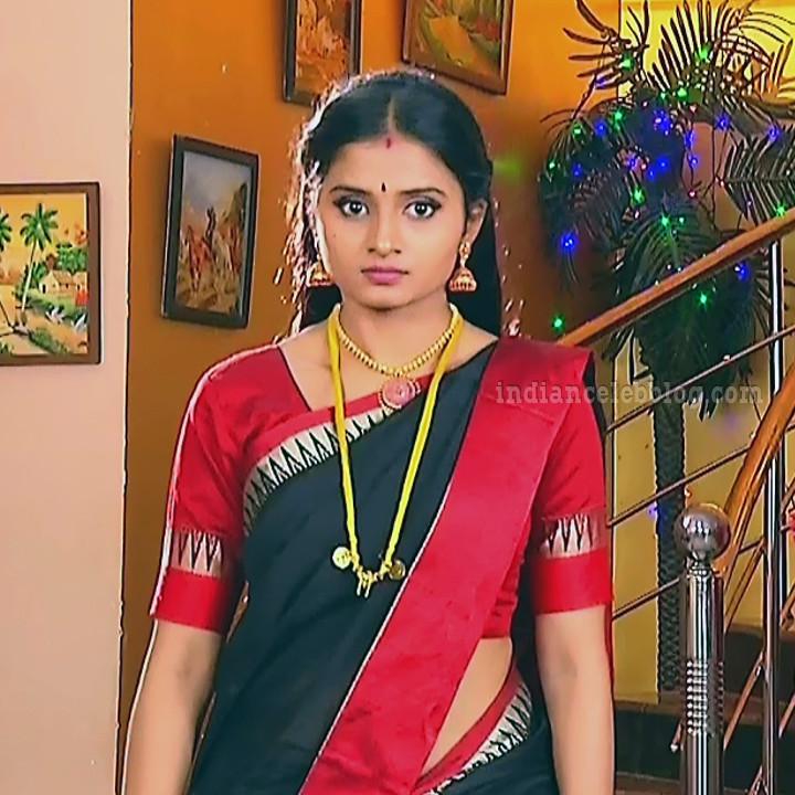Varshini tamil tv actress sumanagal S2 4 saree photo