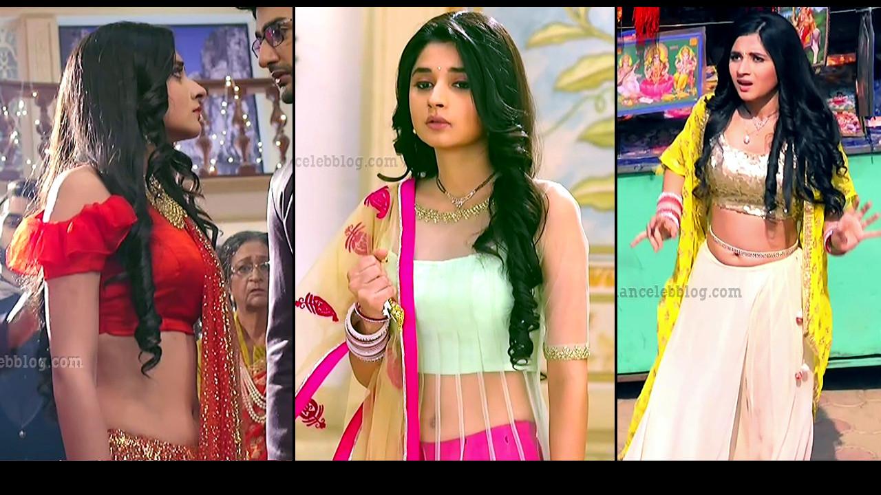Kanika Mann hot Navel show Guddan series HD caps