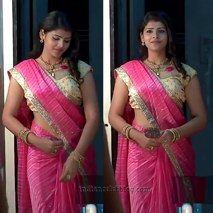 Sangeetha Kamath Telugu TV actress CTS1 6 hot saree photo