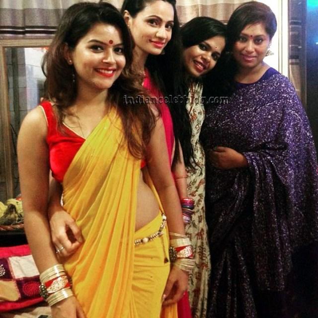 Shilpa Raizada Hindi TV actress CTS1 4 hot saree photo