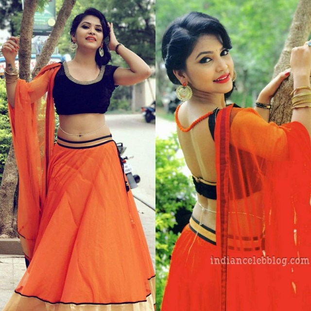 Amulya gowda kannada tv actress CTS1 2 hot photo