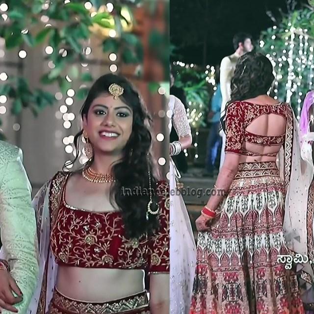 Ankitha Seetha vallabha serial actress S1 15 hot pic