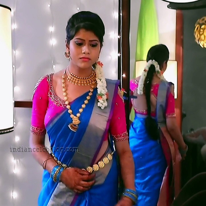 Ankitha Seetha vallabha serial actress S1 8 hot caps