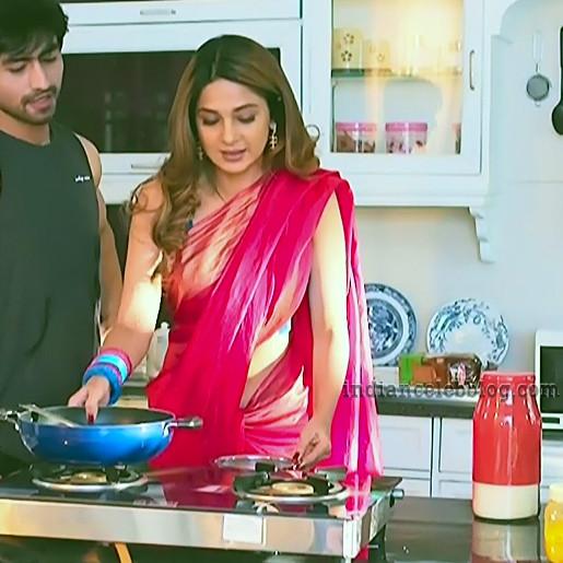 Jennifer Winget Hindi serial Bepanaah S3 3 hot saree caps ...