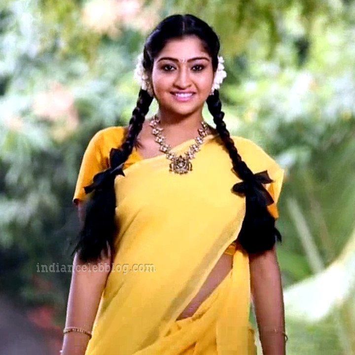 Neelima rani tamil tv actress Aranmanai KS1 1 saree photo
