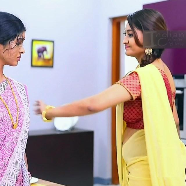 Neelima rani tamil tv actress Aranmanai KS1 5 saree photo