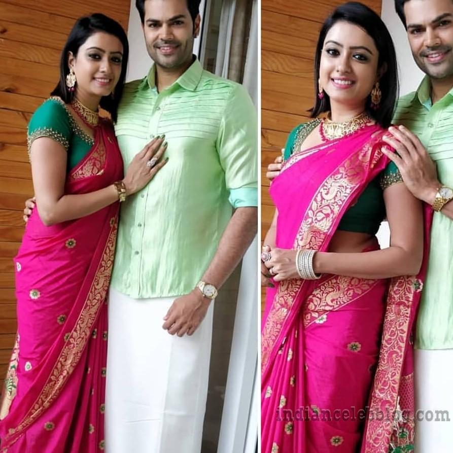 Nisha krishnan Tamil tv actress CTS1 11 hot pic