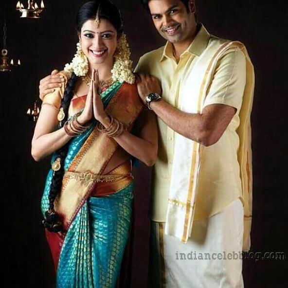 Nisha krishnan Tamil tv actress CTS1 8 hot pic