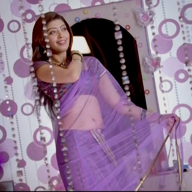 Pranitha subhash navel show from Rabhasa S1 1 hot pic