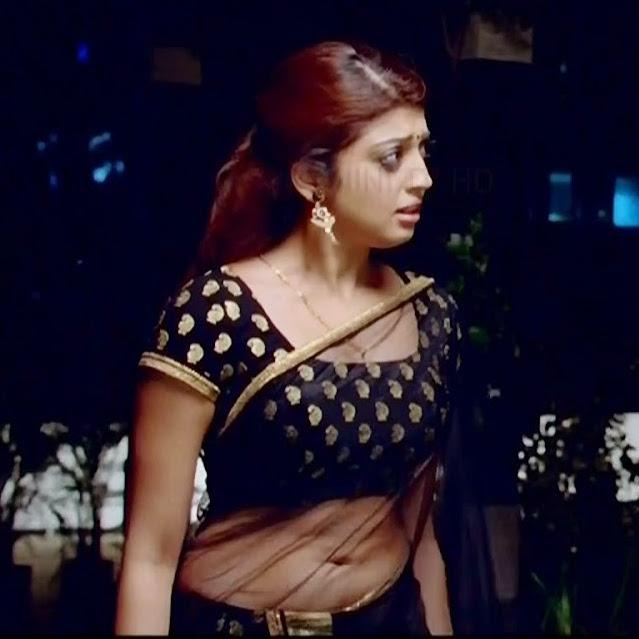 Pranitha subhash navel show from Rabhasa S1 9 hot pic