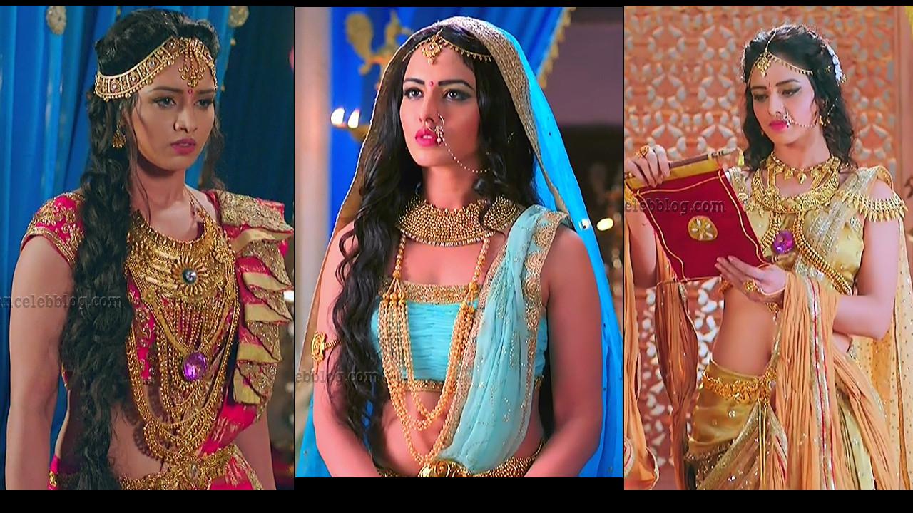 Ravneet Kaur Hindi TV actress Caps from Karn Sangini