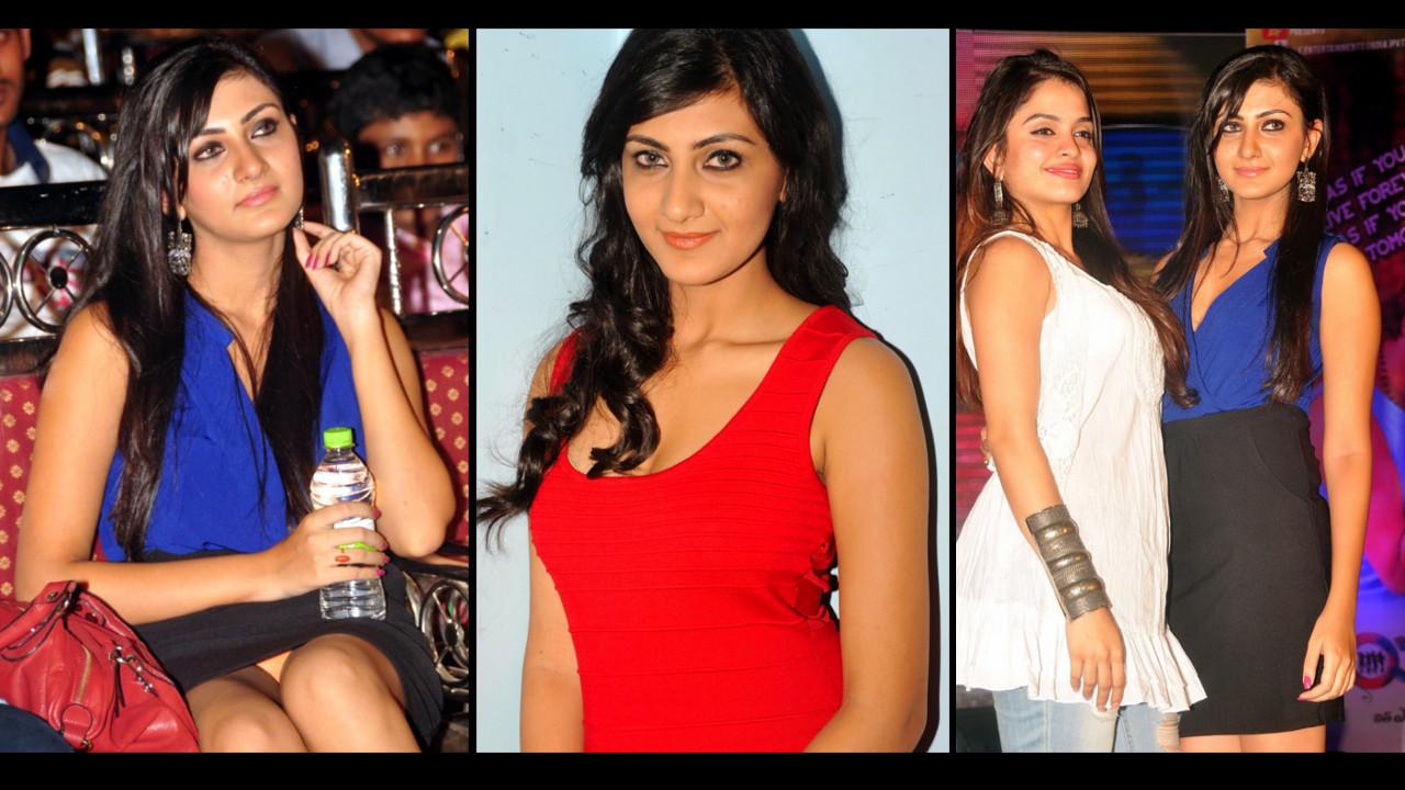 Neelam Upadhyaya  panty flash at tollywood event !!