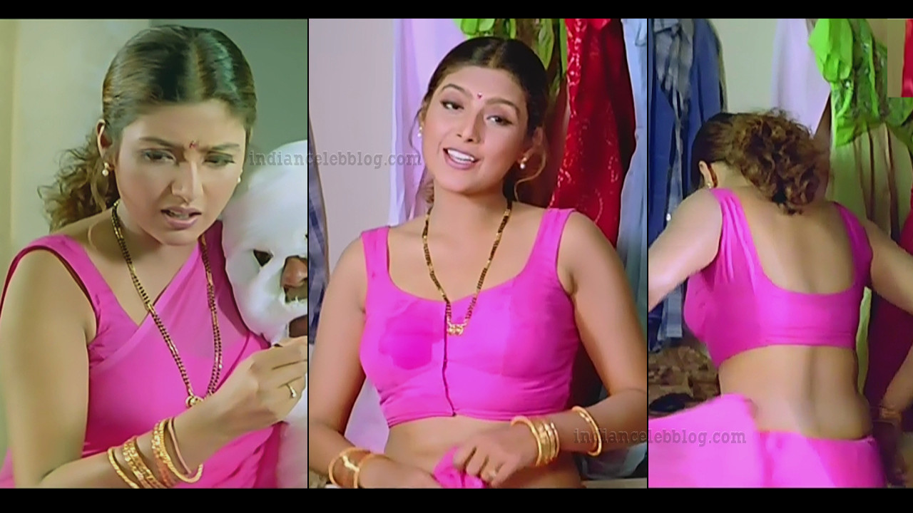 Heera Rajagopal telugu movie aavida maa avide hot saree change pics hd caps