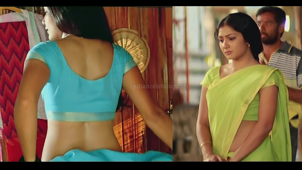 Kamalini Mukherjee hot Saree Caps from Godavari telugu movie