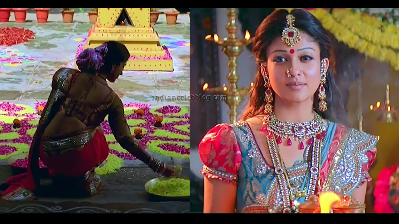 Nayanthara Telugu movie Simha hot saree stills