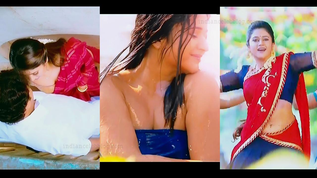 Poonam bajwa Saree caps from Muthina kathirika tamil movie