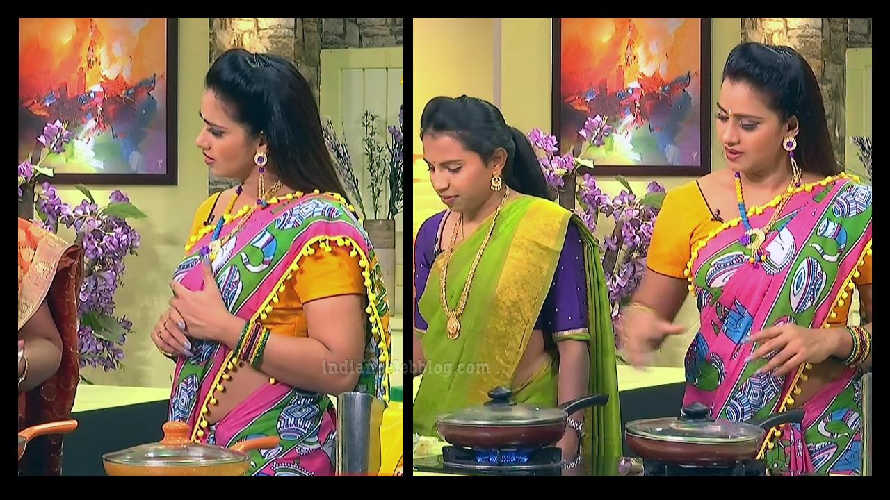 Bhavana telugu anchor from Abhiruchi show