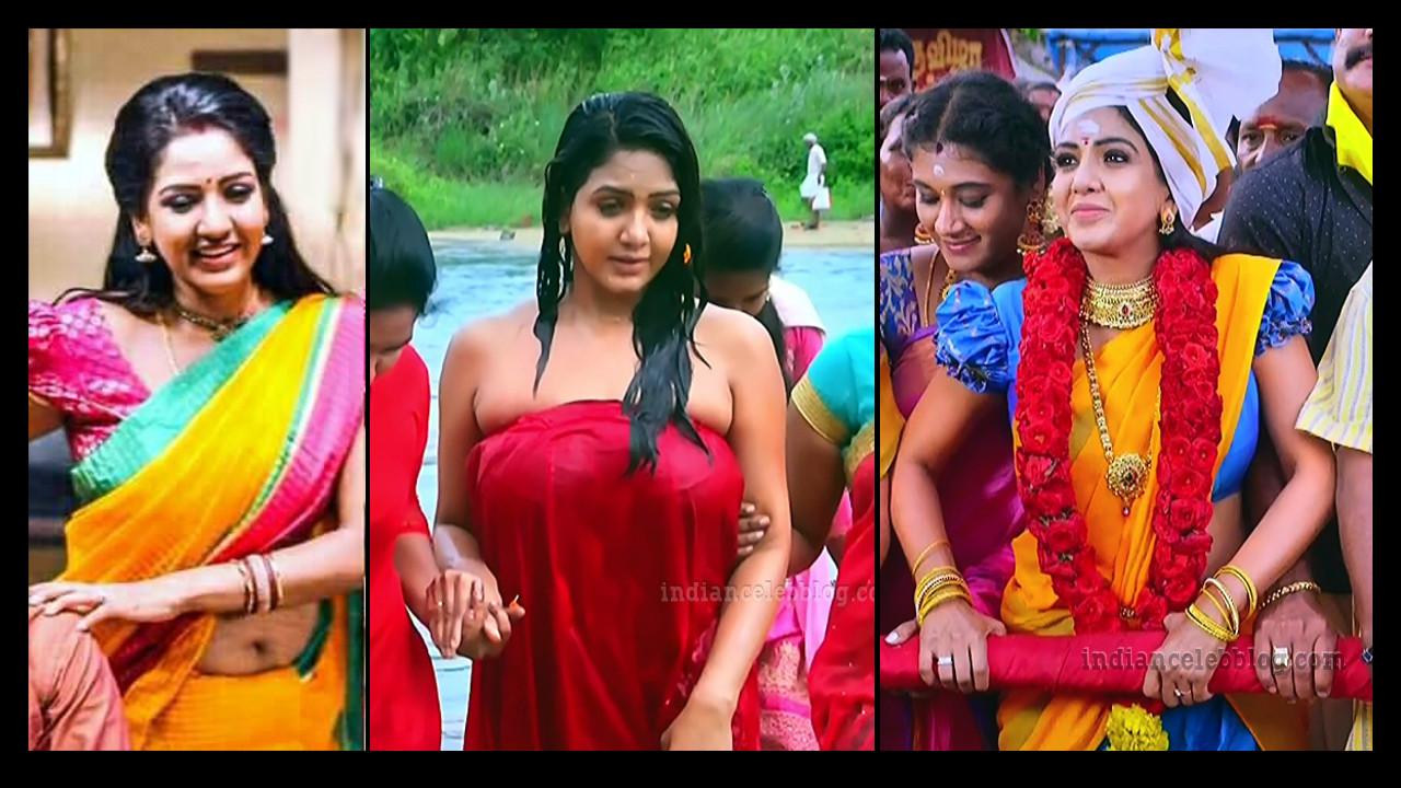 Pavani reddy tamil TV actress hot pics
