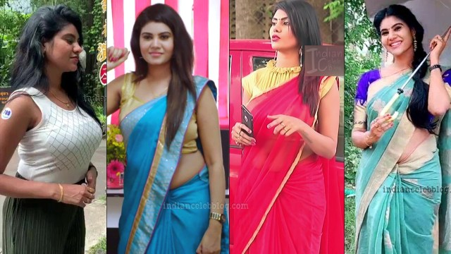 Nivisha tamil tv serial actress eeramana rojave S2 23 thumb