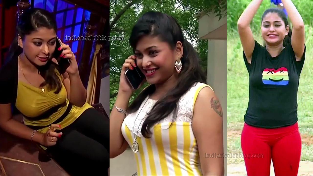 Nagashree Chandralekha tamil serial actress hot pics
