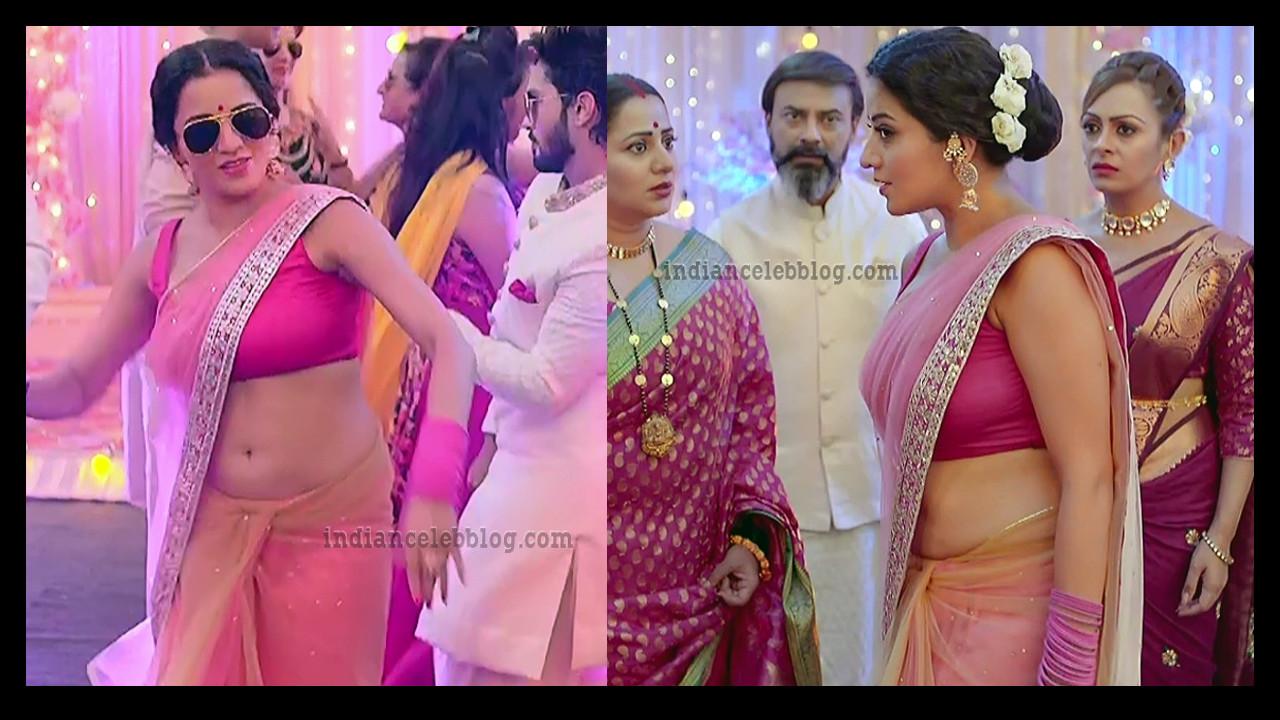 Antara biswas aka Monalisa hot saree navel show from Nazar.