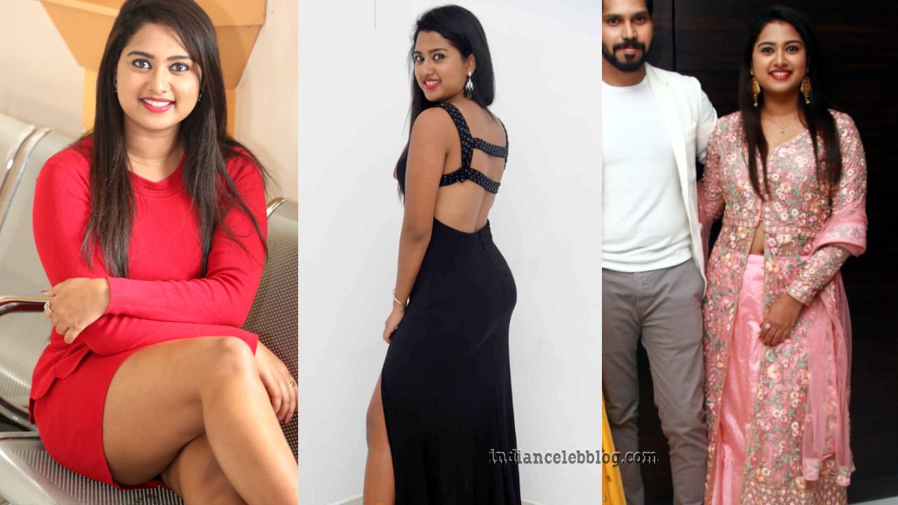 Chirashree anchan kannada actress Event pics