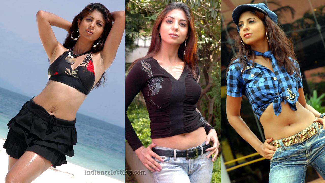 Ekta Khosla hot navel show telugu movie stills