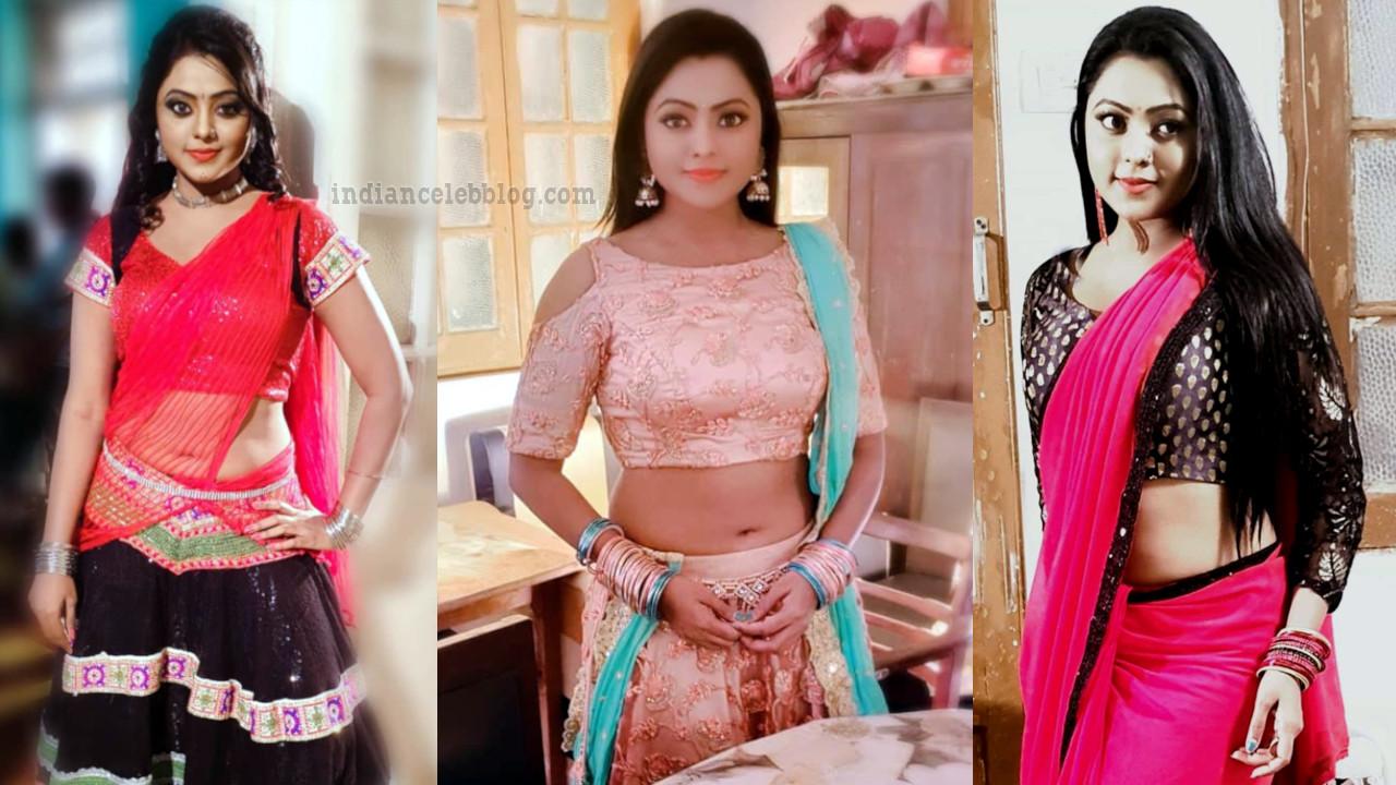 Kajal yadav bhojpuri actress hot navel show photo gallery.