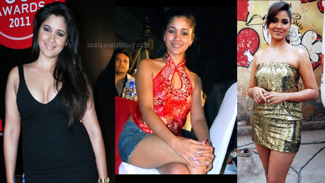 TV Celeb Narayani Shastri hot legs in short sleeveless dress pics