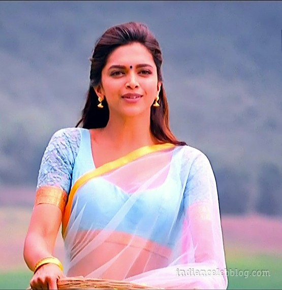 Deepika padukone chennai express S1 23 hot saree caps ...