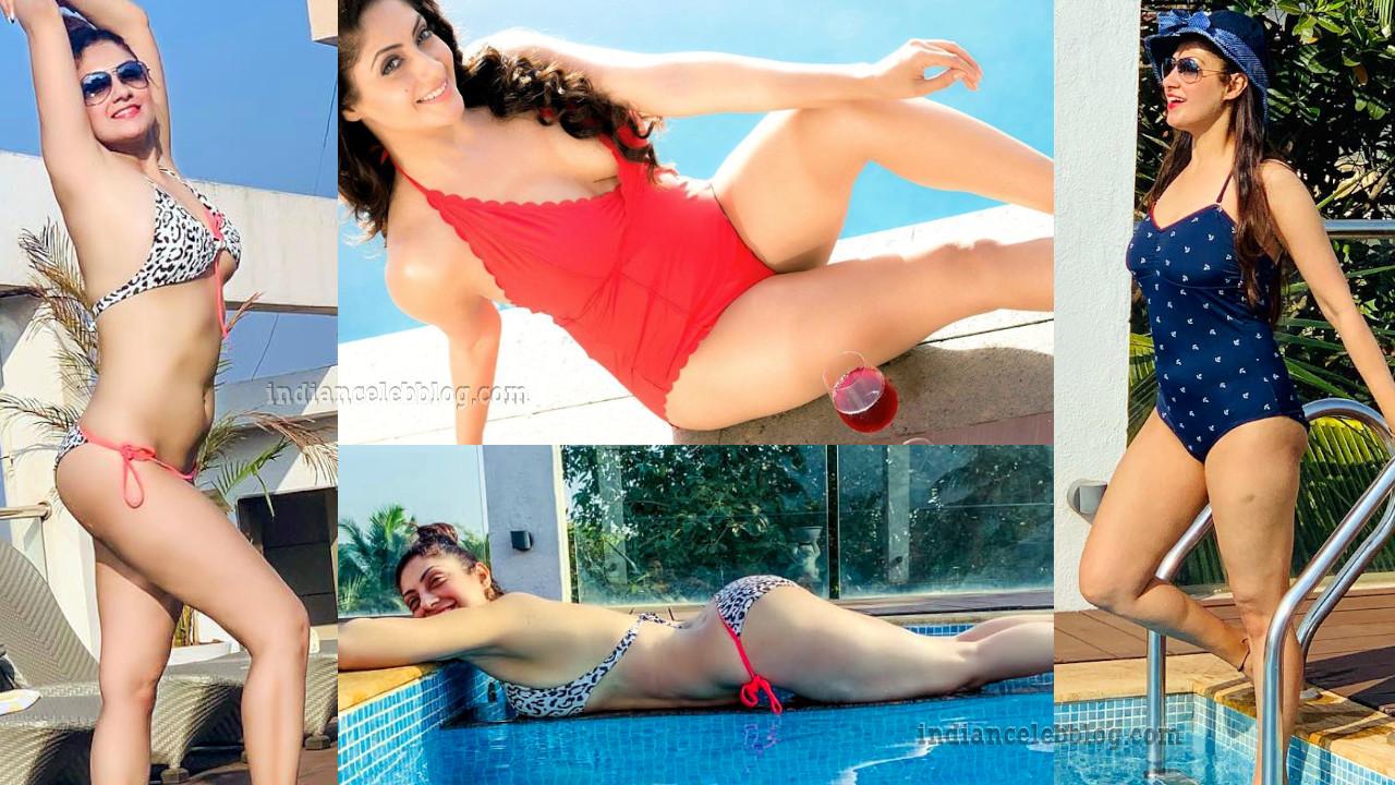 Gurleen chopra bollywood celeb hot bikini photos