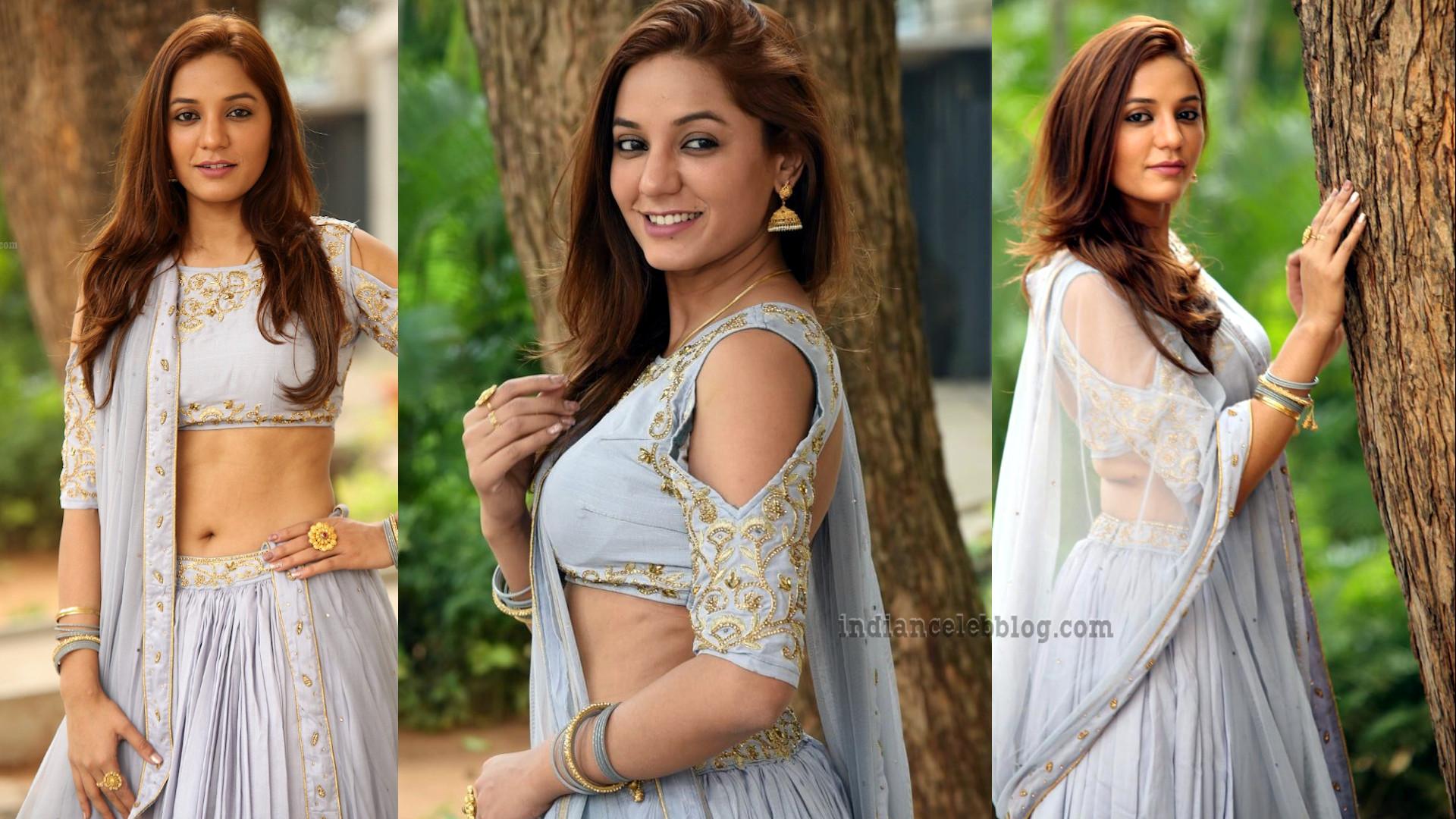 Niva sharma telugu actress hot lehenga choli event pics