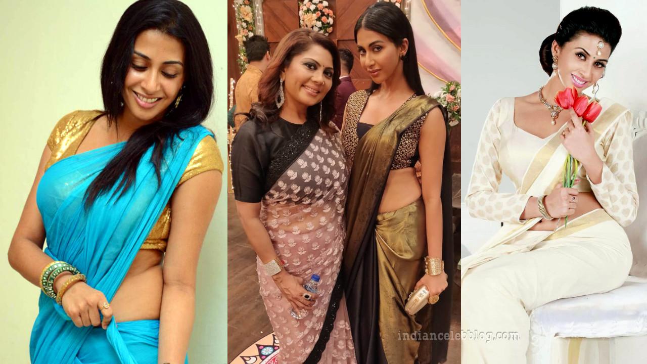 Gayathri iyer Kannada actress photos in saree