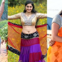 Mouryani tollywood actress navel show spicy photo gallery.