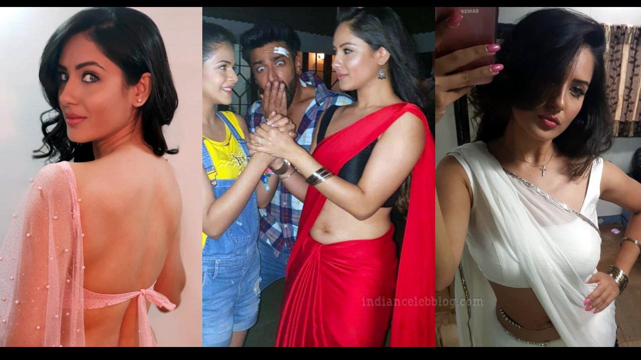 Pooja bose hindi tv actress hot saree pics