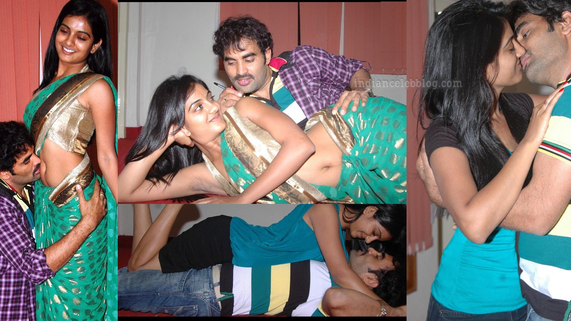 Shruthi raj south indian actress hot sari navel show
