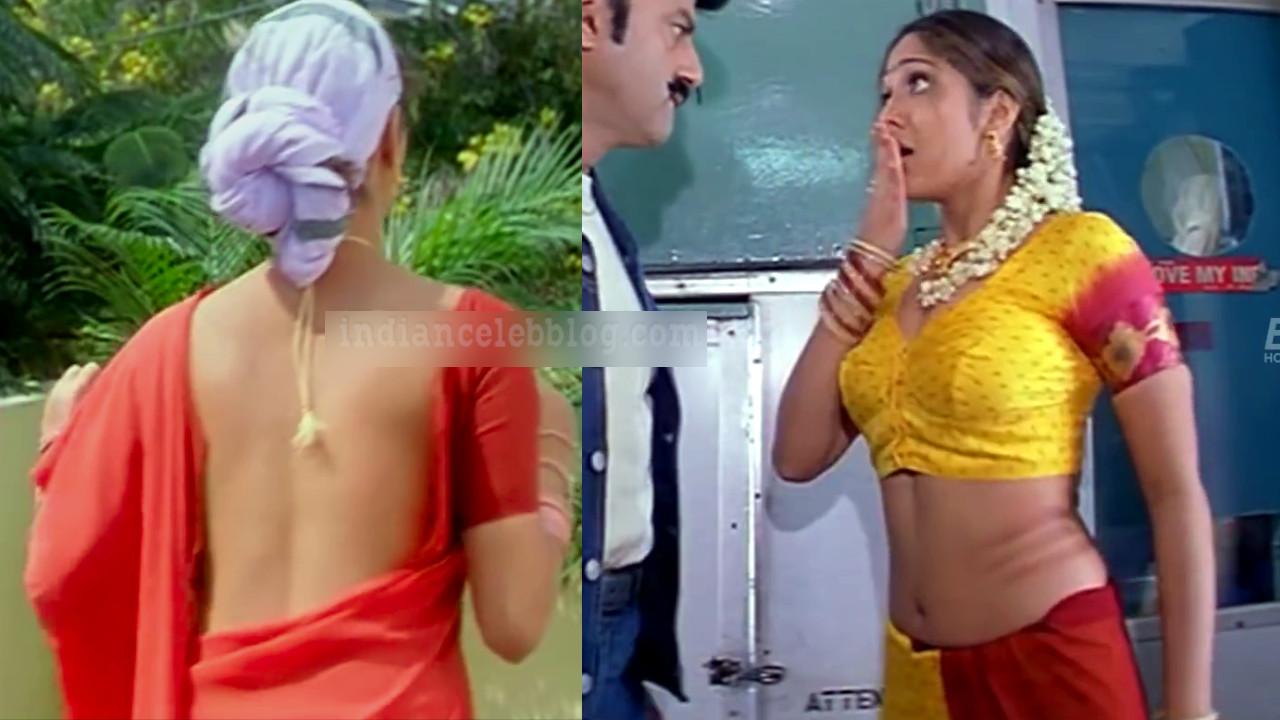 Ankitha hot saree less show telugu movie hd caps