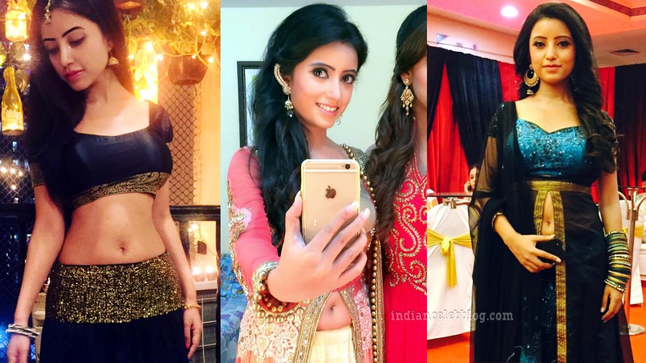 Debashree biswas hindi tv actress hot lehenga choli pics