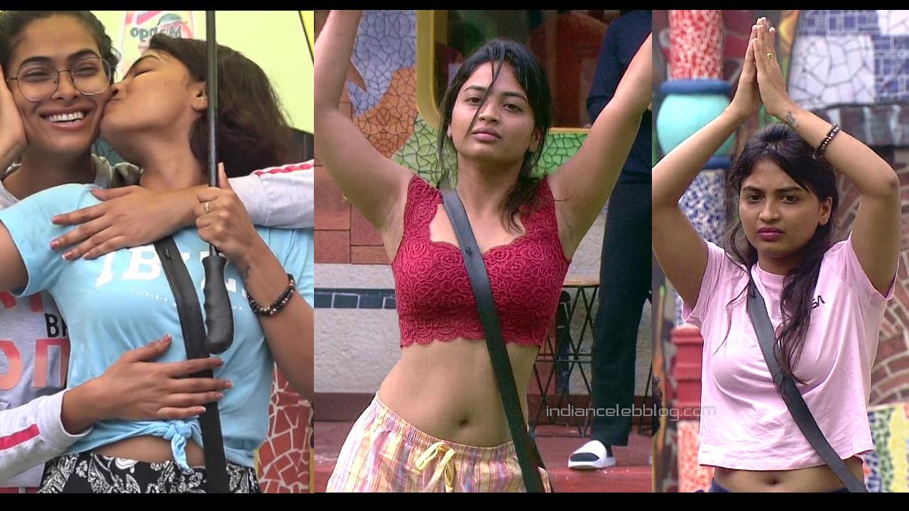 Alekhya harika telugu actress hd caps from bigg boss 4