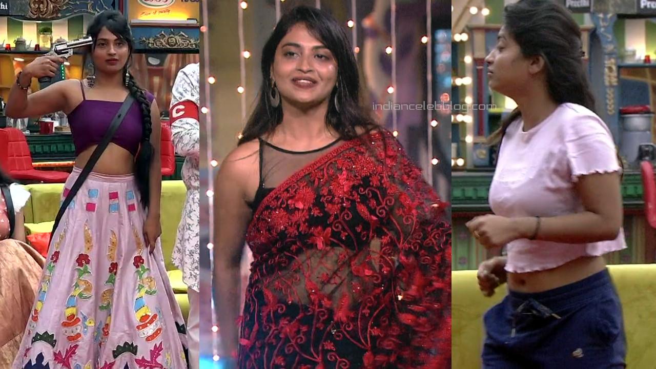Alekhya harika hot sari pics from bigg boss telugu 4