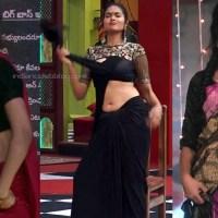Divi vadthya saree navel show bigg boss telugu 4