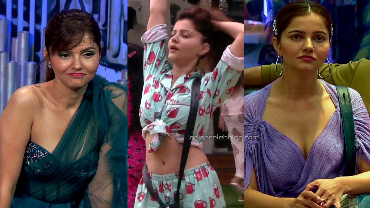 Rubina dilaik hd caps from bigg boss hindi tv show