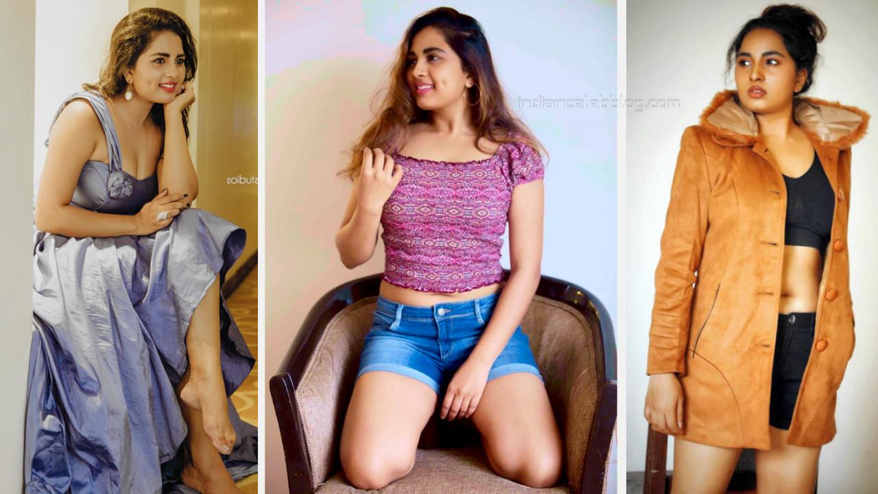 Srushti dange tamil actress hot glamorous pics