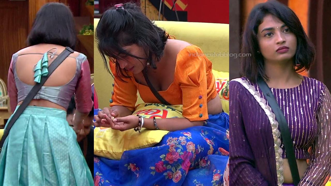 TV actress Alekhya harika hot pics bigg boss telugu hd caps